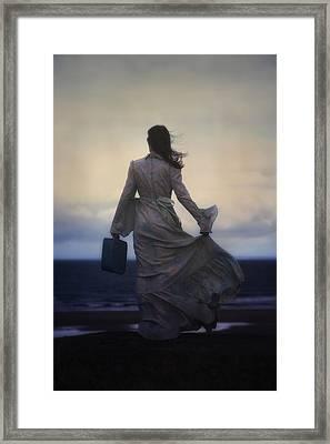 Windy Journey Framed Print by Joana Kruse