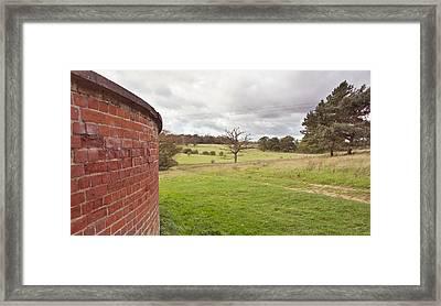 Windy Landscape Framed Print