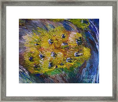 Windy Framed Print by Laurie L