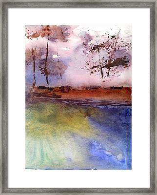 Windy Framed Print by Marsden Burnell