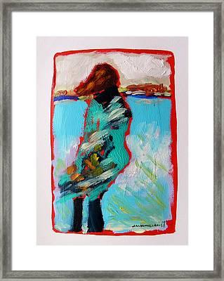 Windy Morning Framed Print by John Williams