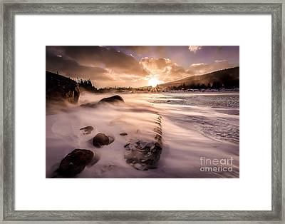 Windy Morning Framed Print by Steven Reed