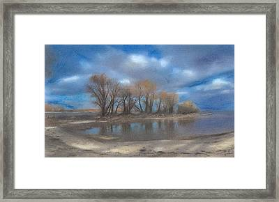 Windy Point Framed Print