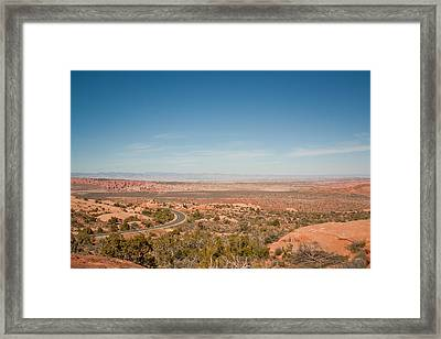 Windy Roads Await Framed Print
