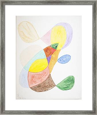 Framed Print featuring the painting Windy  by Stormm Bradshaw