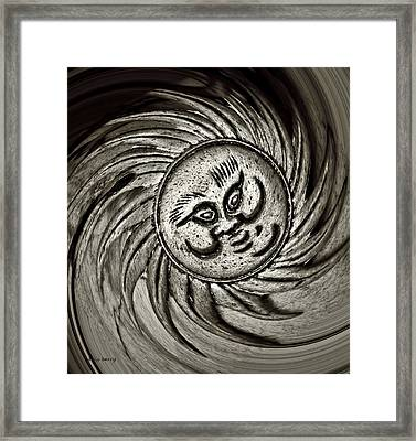 Windy Sun  Framed Print by Chris Berry