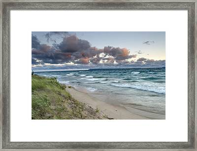 Windy Sunrise Framed Print by Thomas Pettengill