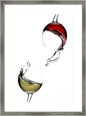 Wine Framed Print by Andreas Berheide