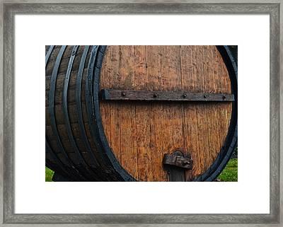 Wine Aplenty Framed Print by Frozen in Time Fine Art Photography