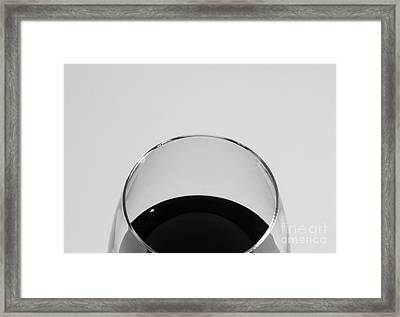 Wine As Though Framed Print