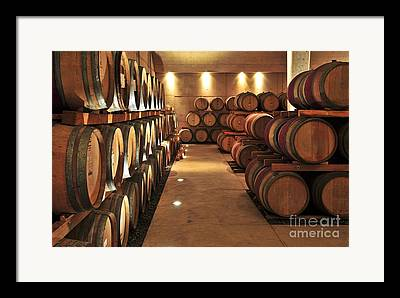 Vintner Framed Prints