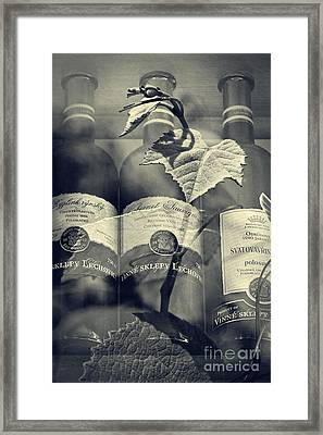 Wine - Beginning And The End Framed Print by Martin Dzurjanik