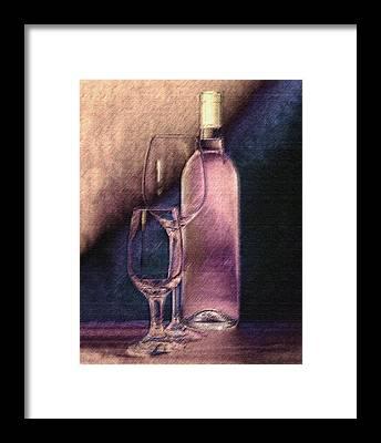 Light Paint Framed Prints