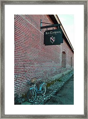 Wine Break Framed Print by Holly Blunkall