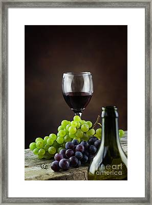 Wine Concept Framed Print by Mythja  Photography