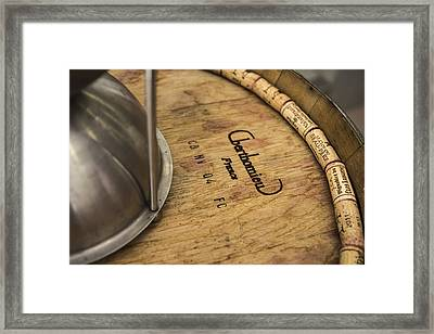 Wine Corks And Spittoon Framed Print