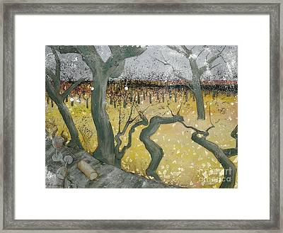 Wine Country Framed Print by Cynthia Parsons