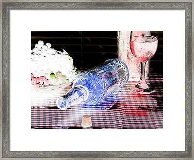 Wine Country - Photopower 01 Framed Print by Pamela Critchlow