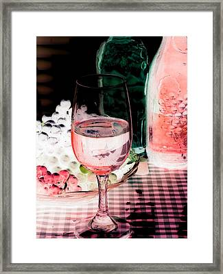 Wine Country - Photopower 03 Framed Print by Pamela Critchlow