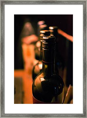 Wine For The Evening Framed Print