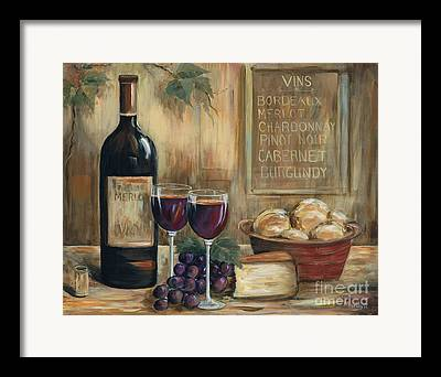 Chardonnay Framed Prints