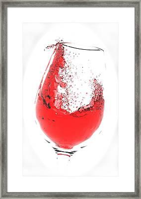 Wine Glass Framed Print