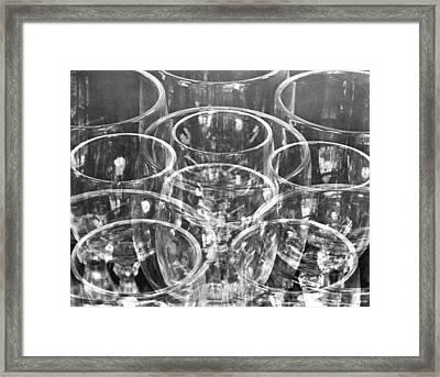 Wine Glasses , Mexico City, 1925 Framed Print by Tina Modotti
