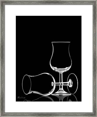 Wine Glasses  Framed Print
