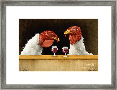 Wine Goblets... Framed Print by Will Bullas