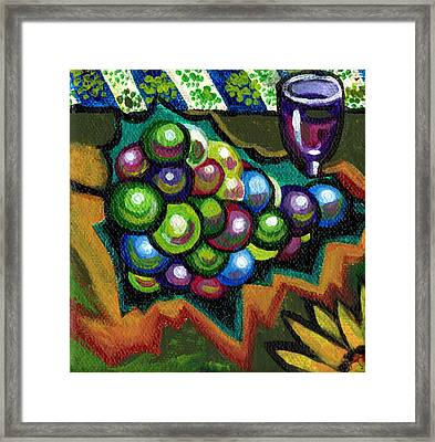 Wine Grapes Framed Print