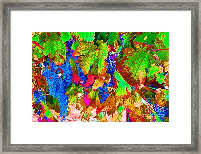 Framed Print featuring the photograph Wine In Time by David Lawson