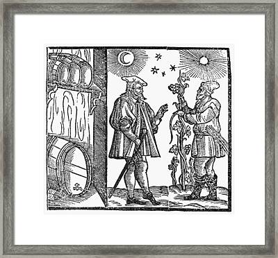 Wine Merchant, 1582 Framed Print