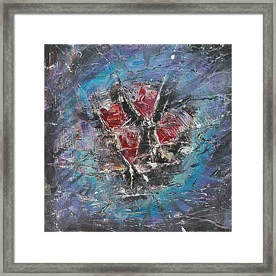 Framed Print featuring the painting Wine-o'clock by Lucy Matta