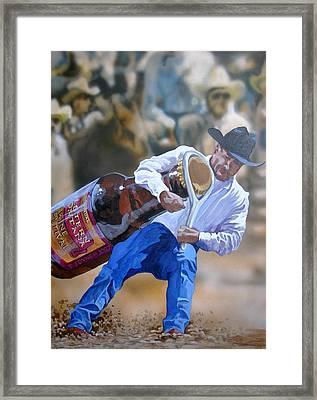 Wine Poster Framed Print