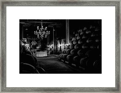Wine Production Framed Print