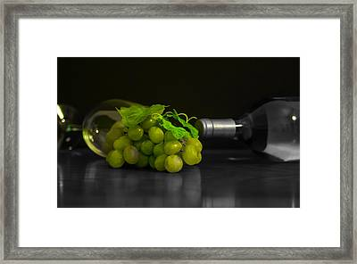 Wine Framed Print by Stephen Smith