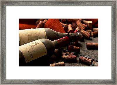 Wine Tasting Framed Print