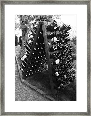 Wine Tasting In Prague Framed Print