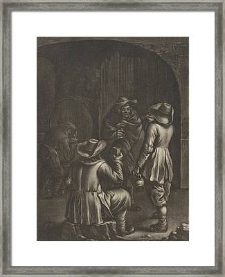 Wine Tasting, Jan Van Somer Framed Print