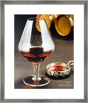 Wine Tasting Framed Print by Jerry McElroy