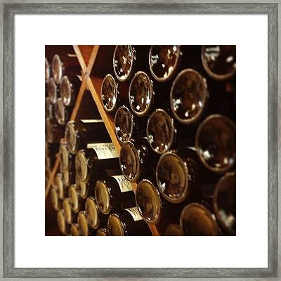Wine Tour Framed Print