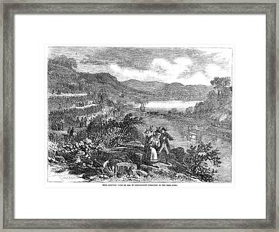 Wine Vineyard, 1866 Framed Print by Granger