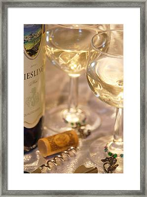Wine With Friends Framed Print