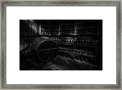 Winerie Framed Print