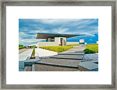 Winery Modernism Framed Print