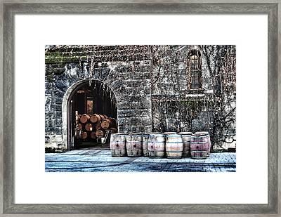 Winery Framed Print by Tom Kiebzak