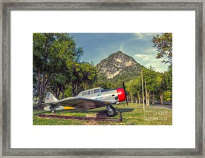 Wing 5 Thailand Framed Print
