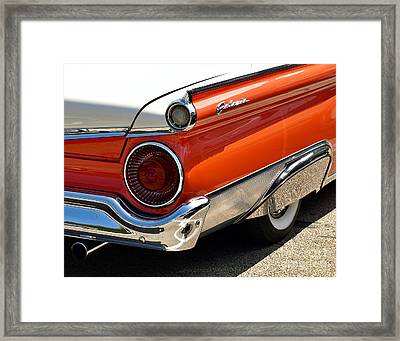 Wing And A Skirt - 1959 Ford Framed Print