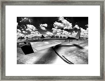 Wing Art Framed Print