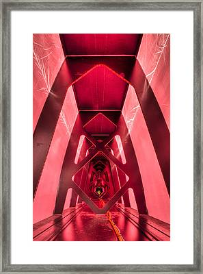 Wing Cathedral Framed Print by Chris Cameron